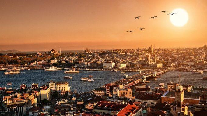 Turkey History - Galata Bridge Istanbul