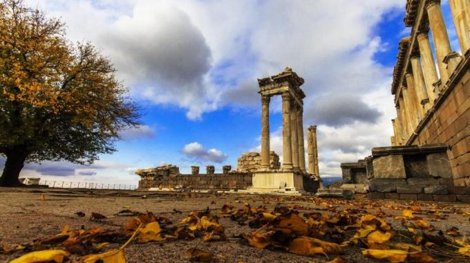 Pergamon Ancient City Izmir Turkey
