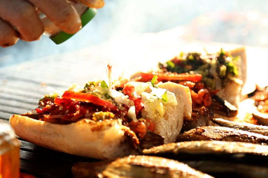 Turkish Fast Foods - Balik Ekmek, Fish Sandwich