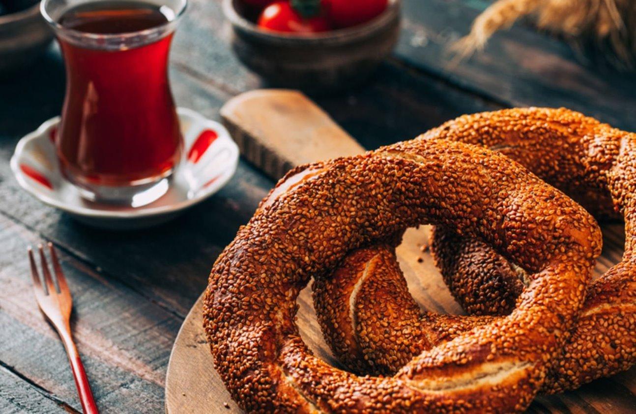Turkish Fast Foods - Simit