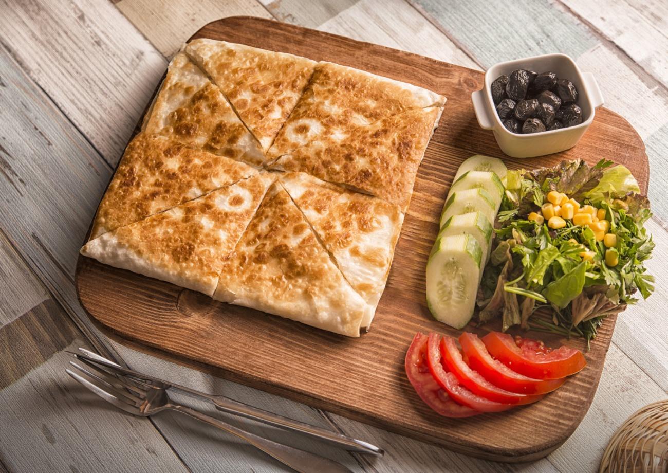 Turkish fast foods - Gozleme