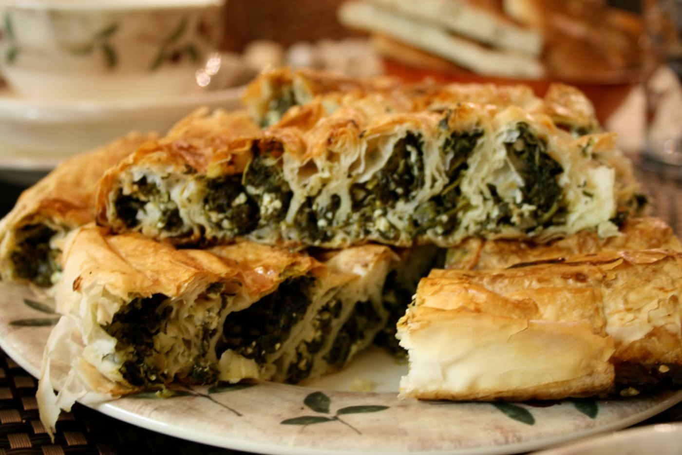 turkish fast foods - kol borek
