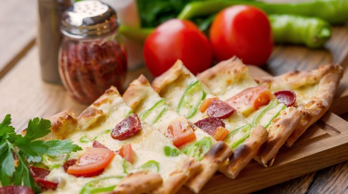 Turkish Fast Foods - Pide