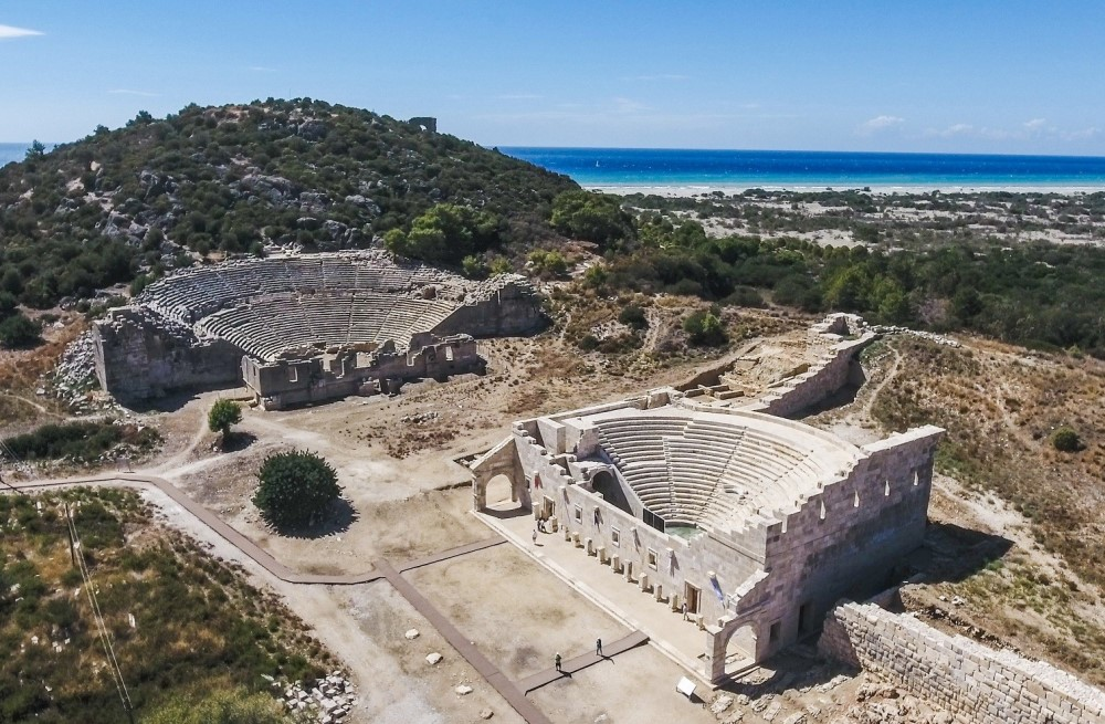 patara beach & ancient city antalya