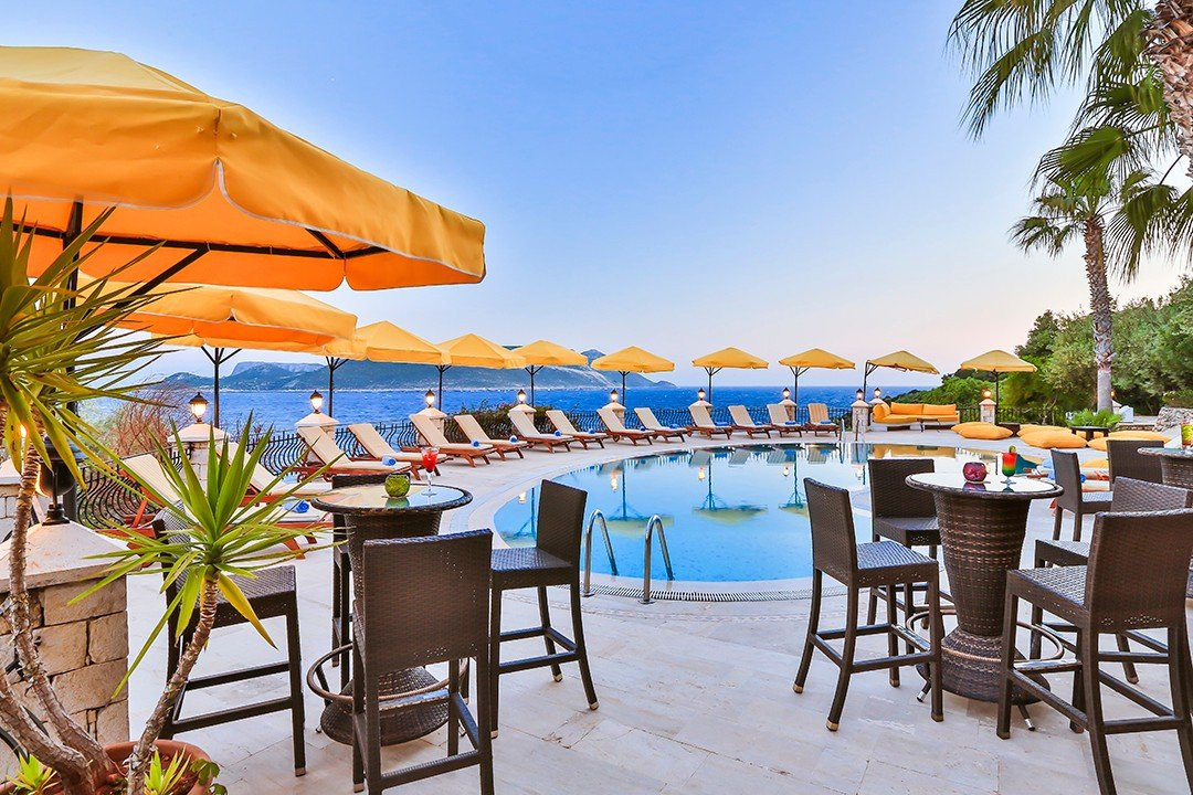 top 10 luxury hotels kas antalya - villa hotel tamara