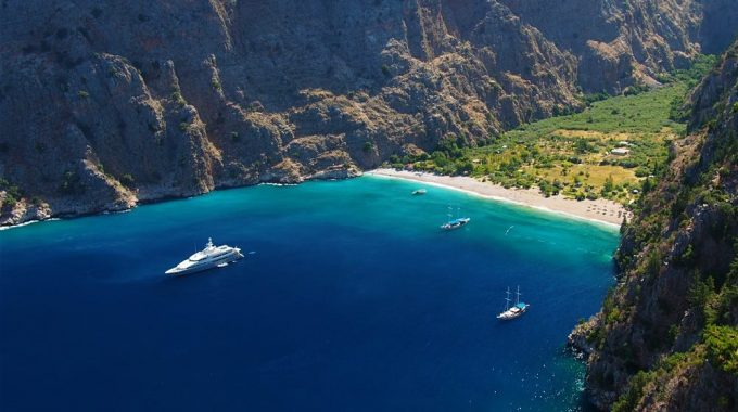 Butterfly Valley Fethiye Turkey