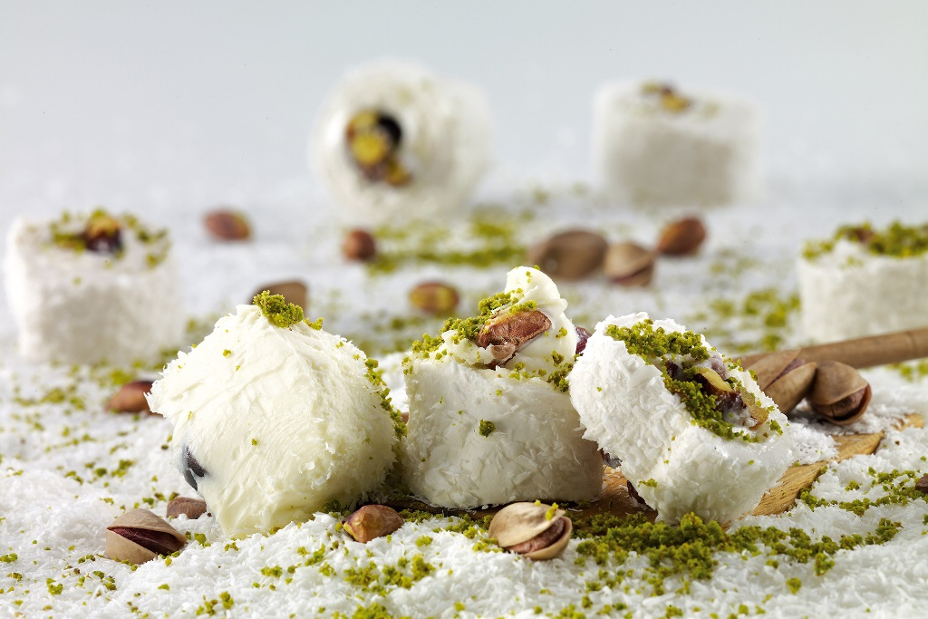turkish desserts - lokum, turkish delight