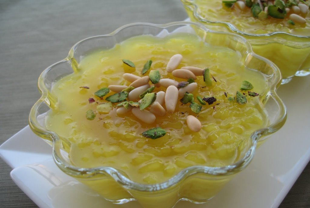 turkish desserts - zerde