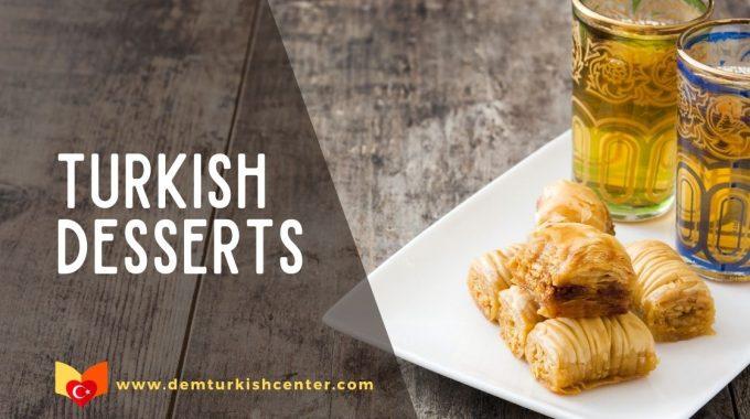 Turkish Desserts Sweets